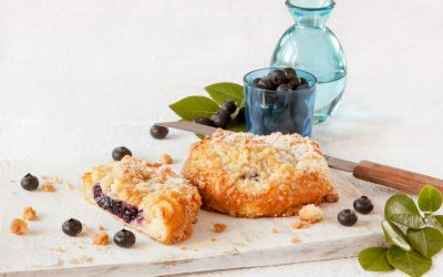 Blueberry pastry Free E