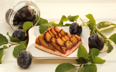 Plum cake, a real classic!