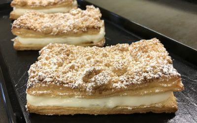 Vanilla-Custard Pastry
